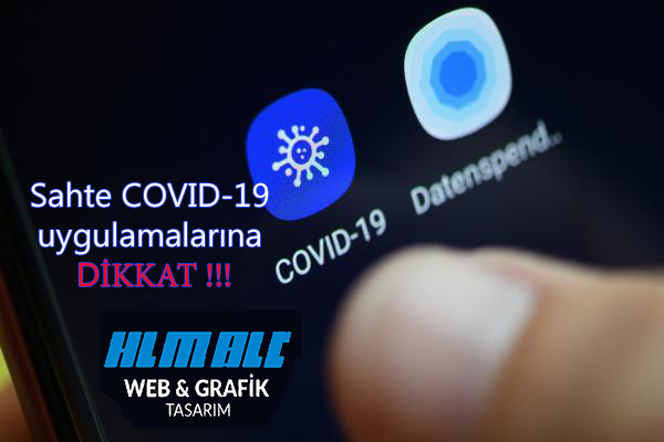 Sahte COVID-19 uygulamaları virüs yüklüyor